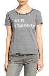 Mother Women's Itty Bitty Goodie Goodie Do It Yourself Graphic Tee