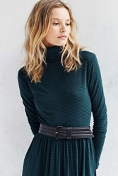 Urban Outfitters Thick Overcoat Belt Black