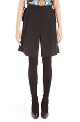 Givenchy Women's Wool Bermuda Cavalry Shorts