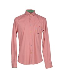 Poggianti Shirts Shirts Men Red