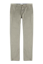 Closed Clifton Slim Cotton Chinos Green