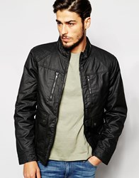 Blend Of America Blend Coated Jacket Padded 2 Pocket Black