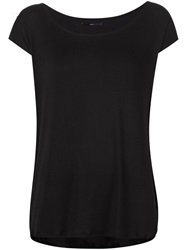 Fadeless Scoop Neck T Shirt Black