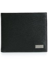 Salvatore Ferragamo Billfold Wallet Black