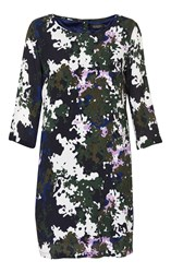 Soaked In Luxury Camouflage Printed Dress Multi Coloured