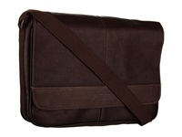 Kenneth Cole Reaction Risky Business Single Gusset Messenger Bag Dark Brown Messenger Bags