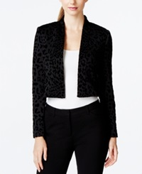Calvin Klein Long Sleeve Bolero Shrug Black