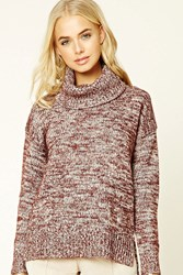 Forever 21 Contemporary Marled Turtleneck