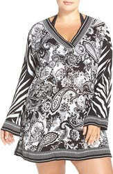 Lablanca Plus Size Women's La Blanca Seville Cover Up Tunic