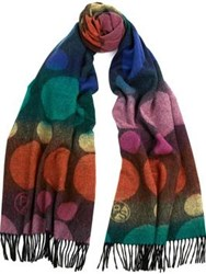 Paul Smith Ps By Ps Spot Scarf Multicolour