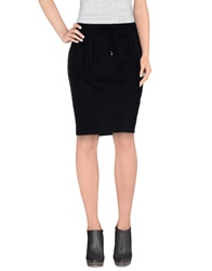 Lorna Bose' Knee Length Skirts Black