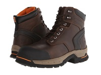 Timberland 6 Stockdale Alloy Safety Toe Dark Brown Men's Work Boots