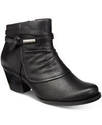Bare Traps Rhapsody Booties Women's Shoes Black