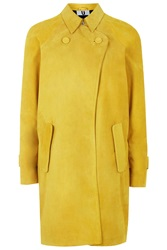 David Suede Trench Coat By Unique Yellow