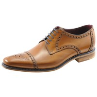 Loake Foley Derby Lace Up Brogues Tan