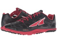 Altra Footwear Golden Spike Black Red Athletic Shoes