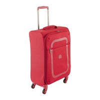 Delsey Dauphine 2 4 Wheel Trolley Case Red 55X35cm