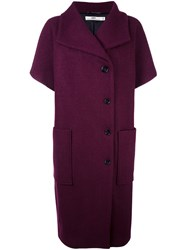 Hope 'Cocoon' Coat Red