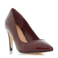 Linea Anette Pointed Court Shoes Burgundy