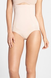 Spanx 'Oncore' High Waist Shaping Briefs Soft Nude