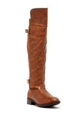 Godiva Brenda Over The Knee Riding Boot Brown