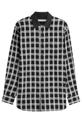 Rag And Bone Printed Cotton Shirt Multicolor