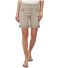 Jag Jeans Jordan Pull On Relaxed Fit Short In Heritage Twill Stucco Women's Shorts Khaki