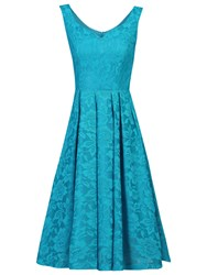 Jolie Moi Lace Bonded Sweetheart Prom Dress Teal