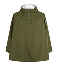 Barbour Tidewater Poncho Female Green