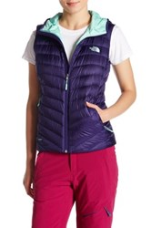 The North Face Tonnero Hooded Vest Purple