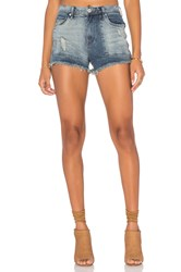 Blank Nyc Distressed Cut Off Short Rough Patch