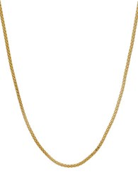 Lord And Taylor Gold Rush 14K Yellow Gold Popcorn Slider Necklace