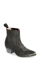 Sendra 'Linda' Leather Bootie Women Grey