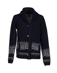 Red Soul Knitwear Cardigans Men Dark Blue