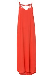 Rusty Stunner Summer Dress Opy Coral