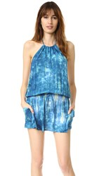 Blue Life Island Halter Dress Seychelles