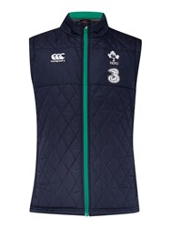 Canterbury Of New Zealand Ireland Padded Gilet Navy