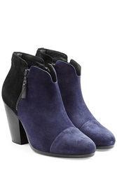 Rag And Bone Rag And Bone Margot Suede Ankle Boots Blue