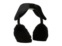 Kate Spade Faux Fur Muffs With Bow Black 1