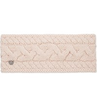 Ugg Cable Knit Wool Blend Headband Freshwater Pearl M