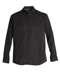 Double Two Men's Bar Harbour By Casual Shirt Black