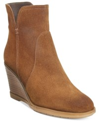 Kenneth Cole Reaction Dot Ation Wedge Ankle Booties Women's Shoes Pretzel
