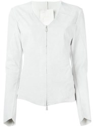 10Sei0otto Fitted Zip Jacket Nude And Neutrals