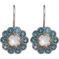 Cathy Waterman Women's Floral Drop Earrings No Color