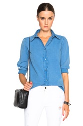A.P.C. Mike Shirt In Blue
