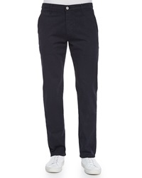 Ag Adriano Goldschmied Lux Slim Fit Chino Pants Navy
