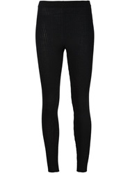 Moschino Ribbed Leggings
