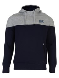 Canterbury Of New Zealand Vaposhield Hoodie Peacoat Pale Grey
