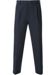 Guild Prime Polka Dot Tailored Trousers Black