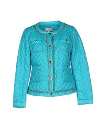 Clips More Coats And Jackets Down Jackets Women Turquoise